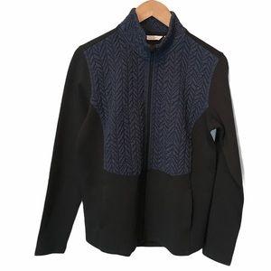 Lady Hagen mixed media full zip golf jacket Medium